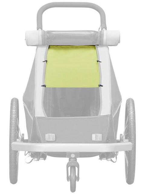 Croozer Sonnenschutz für Kid Plus / Kid for 1 lemon green